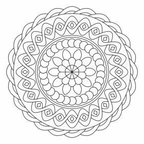 Mandala Coloring Coloring Pages Mandala Coloring Pages Mandala Color Coloring Pictur En 2020 Coloriage