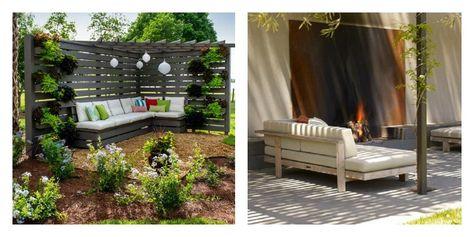 Le salon de jardin en palette en plus de 110 idées ...