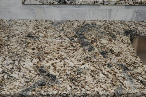 White kitchen with Azul Aran granite countertops - Kitchens Forum - GardenWeb