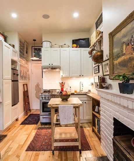 Gentil Small Space Style: 15 Inspiring Tiny New York City Homes   Small Spaces,  City And Spaces