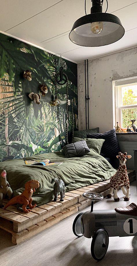 Kids Safari Bedroom Jungle Safari Bedding Room Decor In 2021 Kids Jungle Room Kids Room Wallpaper Jungle Room Bedding theme for boys bedroom