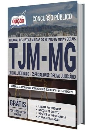 Apostila Concurso Tjm Mg 2020 Oficial Judiciario Especialidade