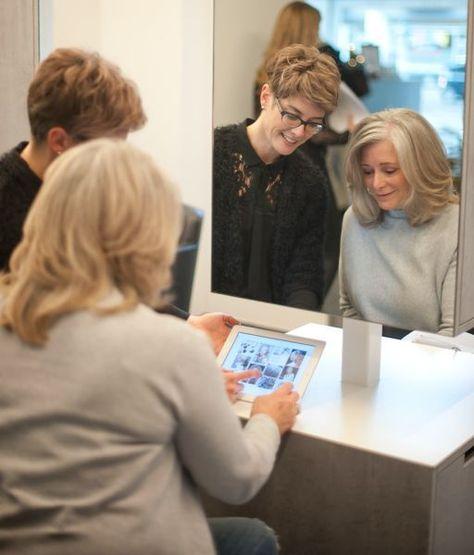Uniek In Nederland Shining Grey Haarconcept Met Afbeeldingen