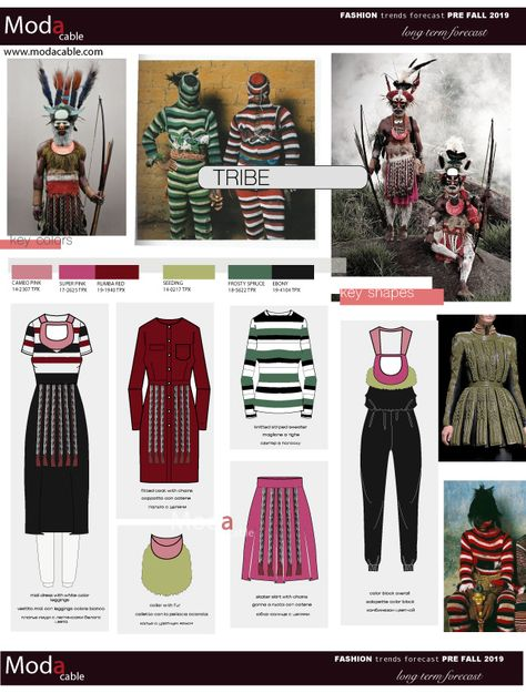Pre Fall 2019 fashion trend Tribe only at www.modacable.com..follow us for more!!