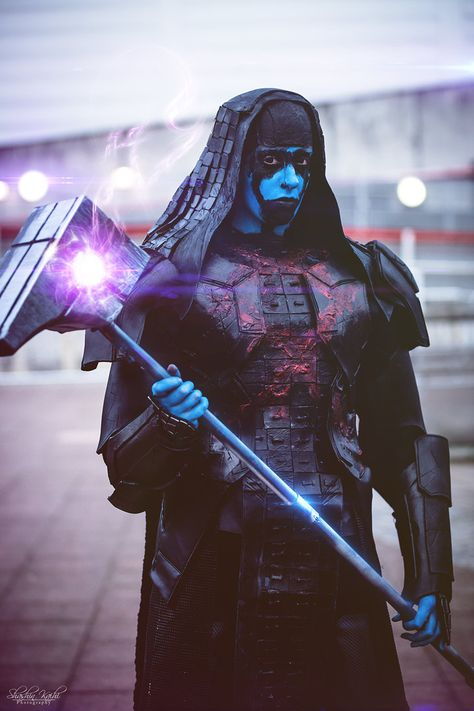 This is prettu good. Ronan the Accuser - The Guardians of the Galaxy - Marvel Movies - Cosplay