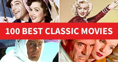 100 Best Classic Movies Of All Time In 2020 With Images Best