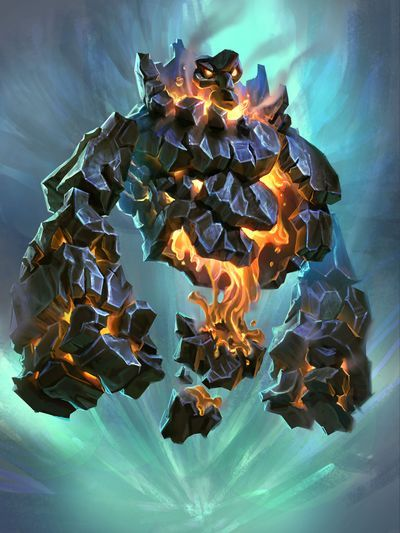 Rock Elemental - Hearthstone Wiki | Northern Campaign in