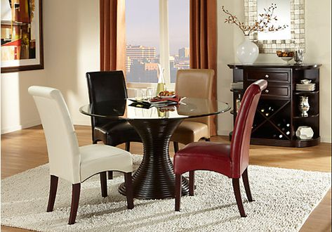 Granby Merlot 5 Pc Rectangle Dining Room 85500 Find Affordable Sets For Your Home That Will Complement The Rest Of Furnitur
