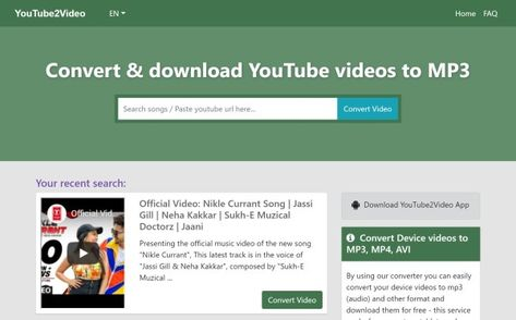 download youtube music mp3 format