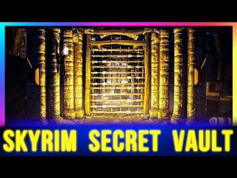 Skyrim Secret Boss Chest Location You Probably Missed Youtube Skyrim Skyrim Tips And Tricks Skyrim Game