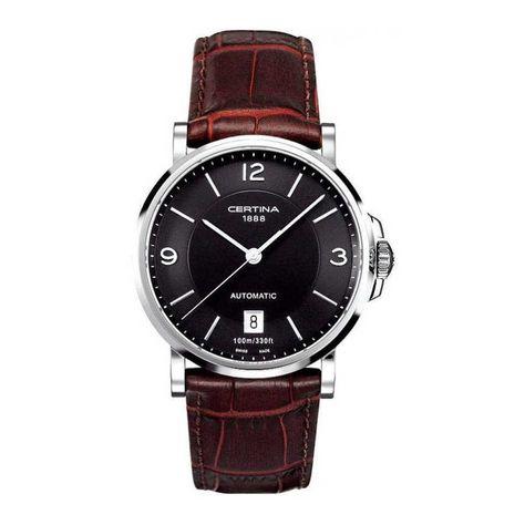 3034b89ac60de4 Certina Gent Quartz DS Caimano horloge C017.407.16.057.00