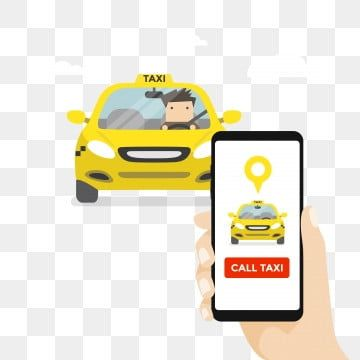 Hand Holding Smartphone And Call Taxi By Phone Booking Taxi Via Mobile App Taxi Clipart Advertising Airport Png And Vector With Transparent Background For Fr In 2021 Girl Holding Balloons Hand