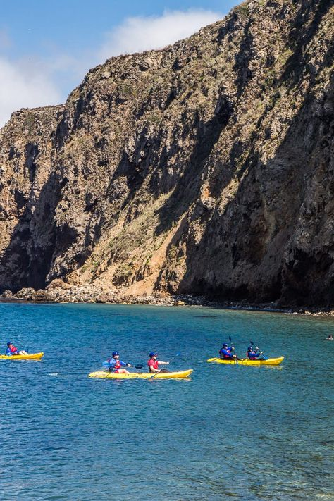 How to take a day trip to Channel Islands National Park in California. #travel #nationalparks #California