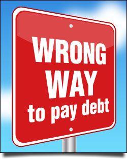 4 wrong ways to escape credit card debt - CreditCards.com