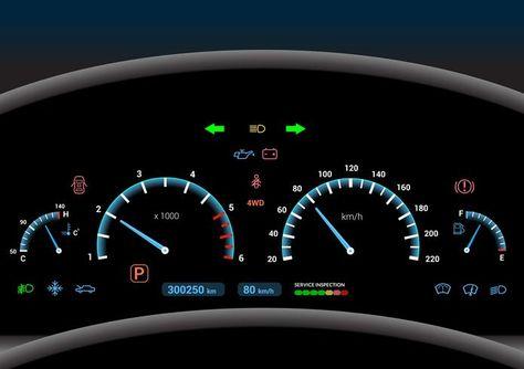 Car Dashboard Background Pattern Design Realistic Car Dashboard Mockup Dash Lights Dashboard Car Dashboards