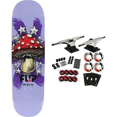 Flip Skateboard Complete Penny Power Up Purple 8 25 Raw Trucks 52mm Wheels In 2020 Flip Skateboards Skateboard Ebay
