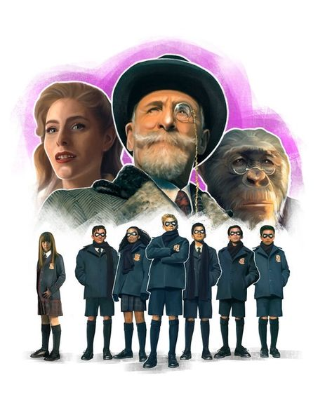 The Umbrella Academy. The best dysfunctional family ever! - Best Credit - Ideas of Best Credit - The Umbrella Academy. The best dysfunctional family ever! Gerard Way, Mary J Blige, Gotham, Tom Hopper, Under My Umbrella, Umbrella Art, Dysfunctional Family, Number Two, Series Movies