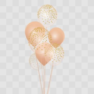 Floating Balloon Balloons Glitter Balloons Gold Glitter Background
