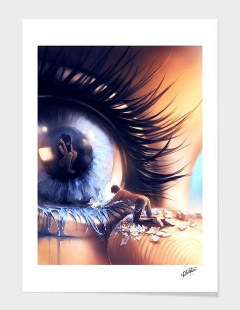 «Show me love» Art Print by Cyril Rolando - Aquasixio | Curioos