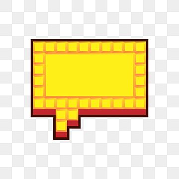 Speech Bubbles Set In Pixel Art Style Comic Shapes Art Png And Vector With Transparent Background For Free Download Pixel Speech Bubble Pixel Art Speech Bubble