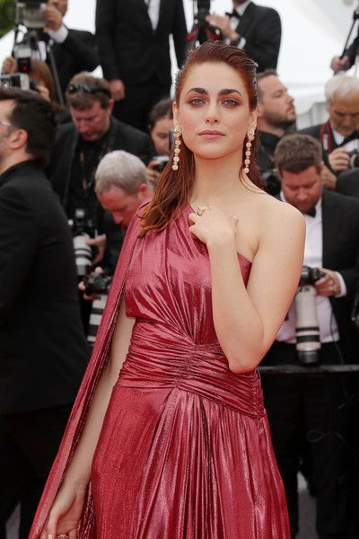 Miriam Leone Photos Photos Le Belle Epoque Red Carpet The
