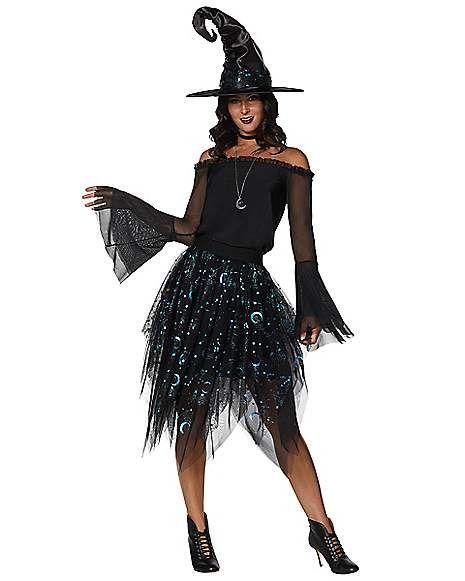 Adult Celestial Coven Costume Spirithalloween Com Costumes
