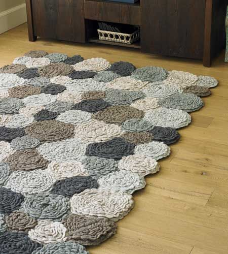 Things you should know about crochet rug Update on The BEST u2013 Most Lovely Crochet Flower Rug Ever Challenge