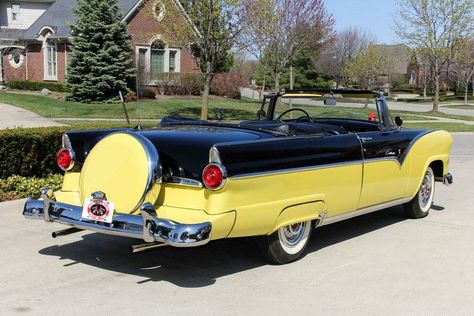 ◆1955 Ford Fairlane Convertible◆..Re-pin Brought to you by  #HouseofInsurance in #EugeneOregon for #LowCostInsurance