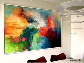 Pin Af Kristina Borregaard Hall Pa Kunst Art Abstrakt Maleri Akryl Abstrakte Malerier Malerier