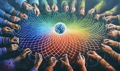 Amizade - a estrutura da sorte dentro da teia de amigos | Arte espiritual,  Xamanismo, Teia