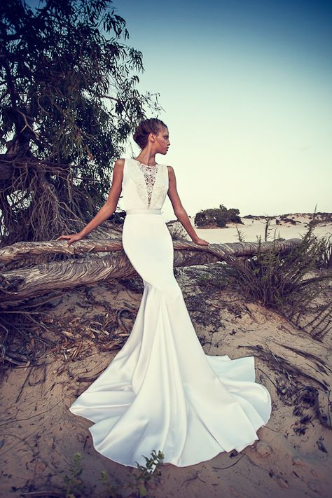 So, there'll be none of our regular programming today as I'm a bit under the weather. Instead we have some really pretty dresses to ogle at courtesy of Israeli designer Liz Martinez. Drool away! 2013 Collection All images via FashionTV