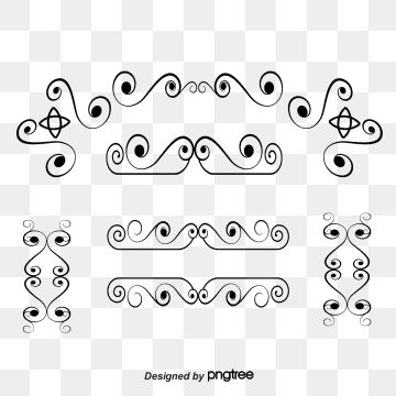 A Variety Of Vintage Jewelry Free Downloads Frame Retro Curly Png Transparent Clipart Image And Psd File For Free Download Free Graphic Design Vintage Borders Graphic Design Background Templates