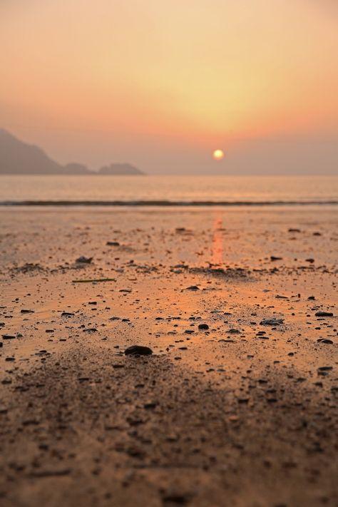 Free Image on Pixabay - West Sea, Glow, Sunset, Evening Sky