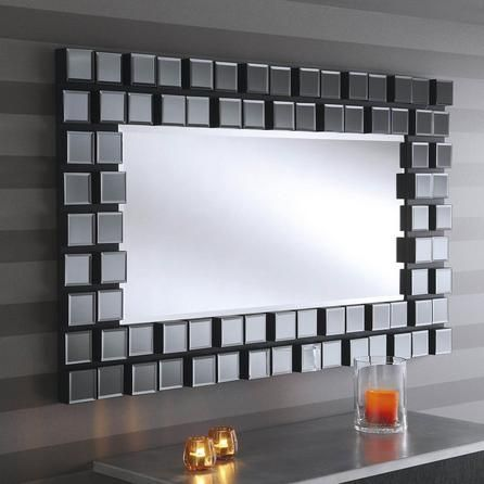Most Simple Ideas Can Change Your Life Rectangular Wall Mirror Leaves Wall Mirror Art Powder Rooms Mirror Wall Living Room Grey Wall Mirrors Mirror Wall Decor Rectangular wall mirrors decorative
