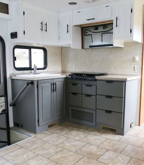 54 Painting Camper Cabinets Ideas Manlikemarvinsparks Com Motorhome Interior Kitchen Remodel Kitchen Renovation