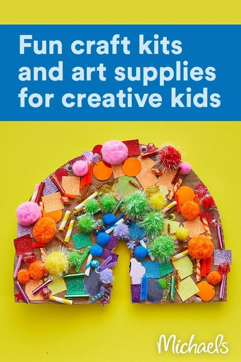 Keep mini makers crafting happily with creative kits and art supplies from Kid Made Modern®.