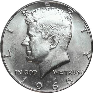 1966 Kennedy Half Dollar Value Coin Helpu Coins Silver Coins Half Dollar