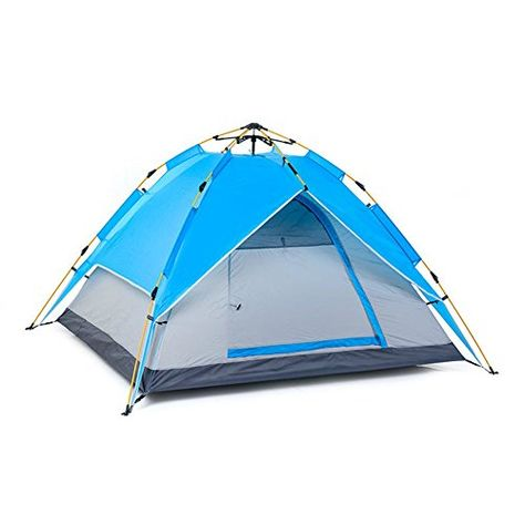 3-4 People Tent Automatic Folding Tent Sun Shelter Outdoor ...