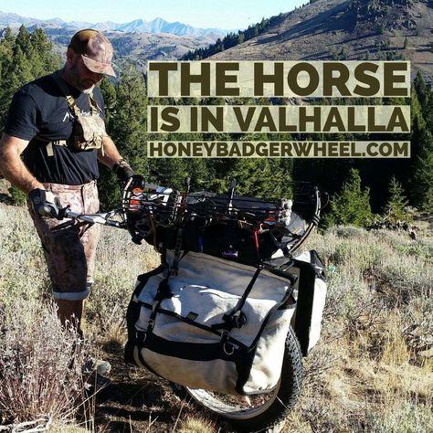 Honey Badger Wheel | Big Game Cart for Hunting Elk and