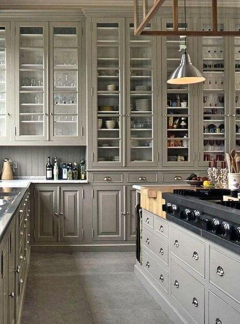 Brilliant Tall Kitchen Cabinet Ideas