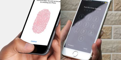 Should You Use A Fingerprint Or A Pin To Lock Your Phone Cell