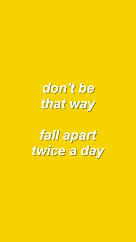 Billie Eilish Aesthetic Quotes Yellow 46 Ideas In 2020 Song Lyrics Wallpaper Me Too Lyrics Lyrics Aesthetic