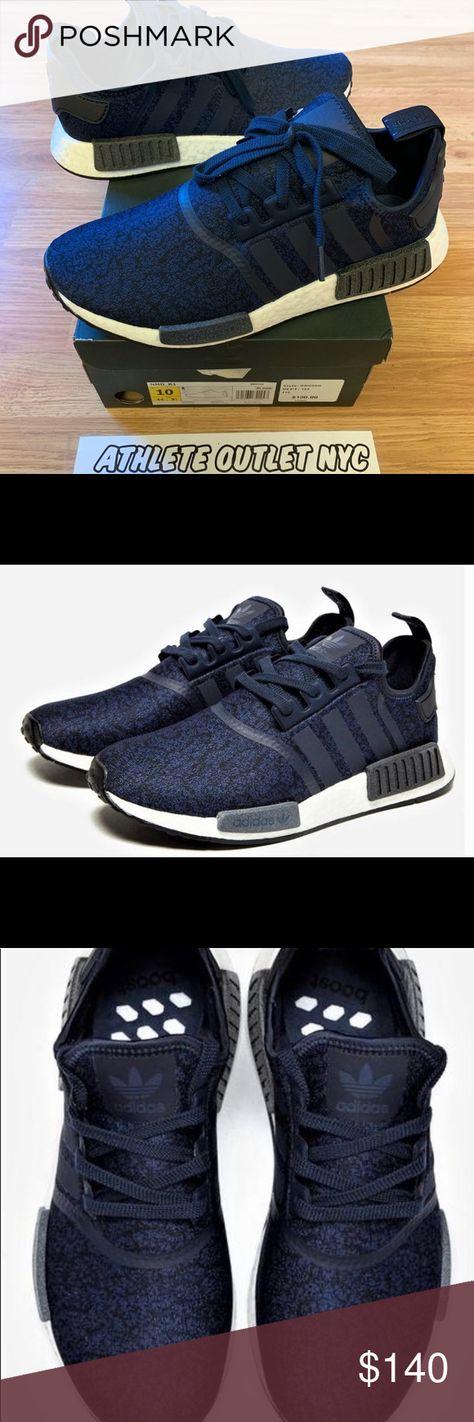 New Adidas Nmd Navy Black Mens Size 10