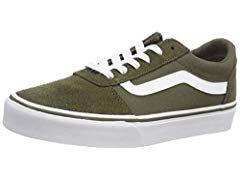 Vans Ward, Sneakers Basses Femme, Noir (Suede/Canvas) Black ...