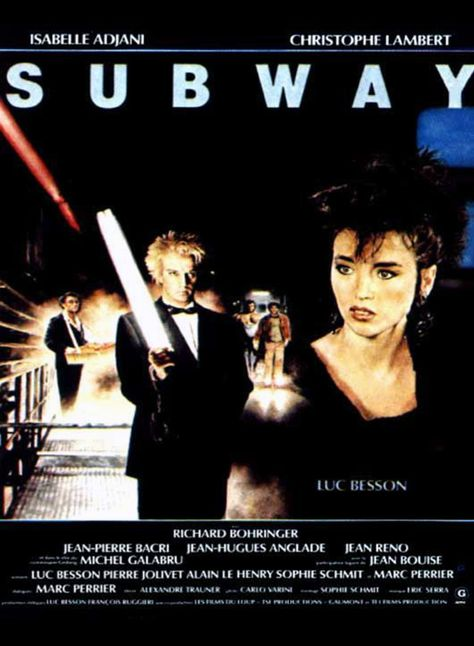 Subway - film 1985 - AlloCiné