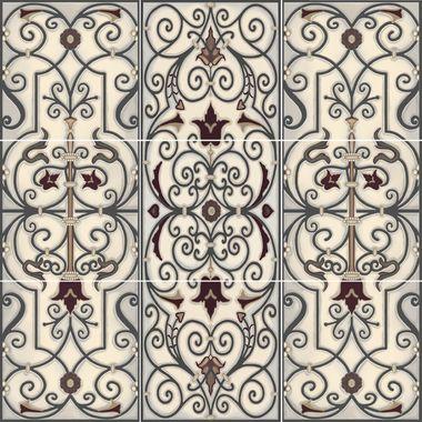 Verdigris Panel Decorative Ceramic Tile Mural Tile Murals Decorative Tile Decorative Ceramic Tile