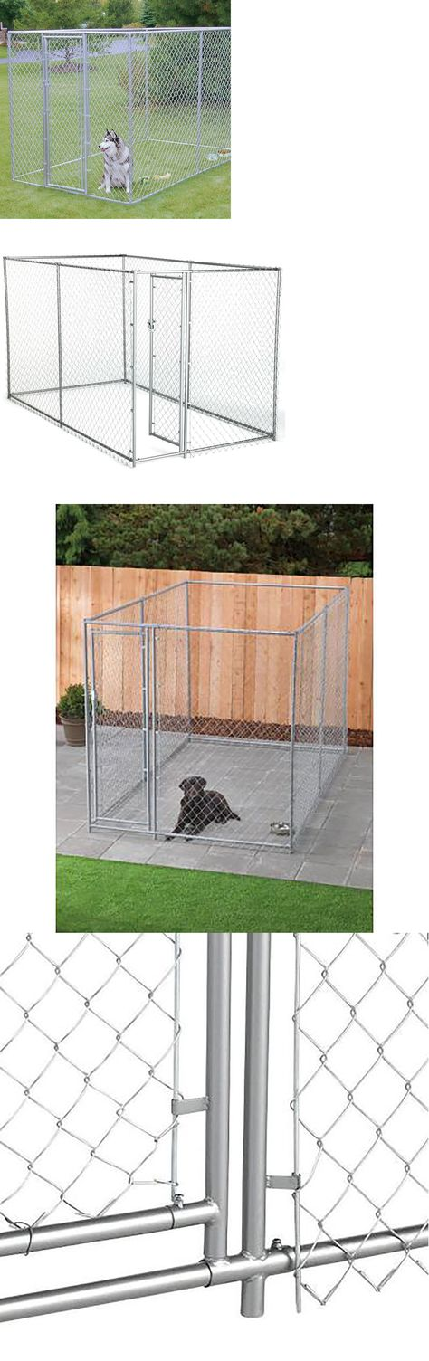 Fences And Exercise Pens 20748 6x10 Foot Outdoor Dog Kennel Large Tall Chain Link Fence Pet Enclosure Run Buy It Dog Kennel Outdoor Dog Kennel Outdoor Dog