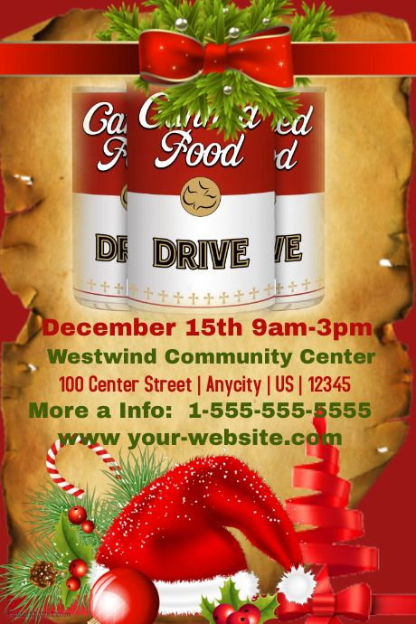 17 Best images about Food Drive Ideas on Pinterest Food bank - can food drive flyer template