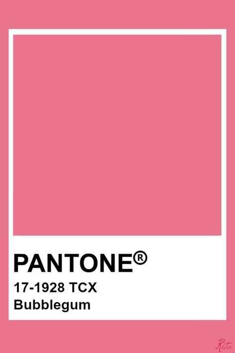 Pantone Bubblegum