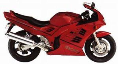 Suzuki Rf 900r Rf900r Diy Service Manual Repair Maintenance Manual 87834532 Motorcykler